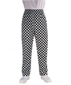 Chef Works Unisex Easyfit Chefs Trousers Big Black Check S
