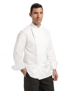 Chef Works Madrid Unisex Chef Jacket White 42