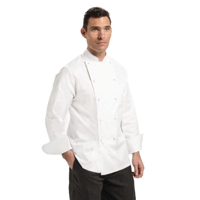 Chef Works Madrid Unisex Chef Jacket White 42