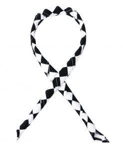 Whites Neckerchief Big Black and White Check