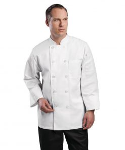 Chef Works Le Mans Chefs Jacket White 5XL