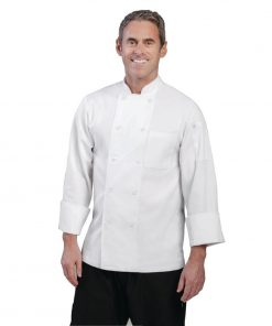 Chef Works Unisex Le Mans Chefs Jacket White 2XL