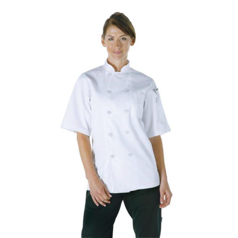 Chef Works Unisex Volnay Chefs Jacket White S