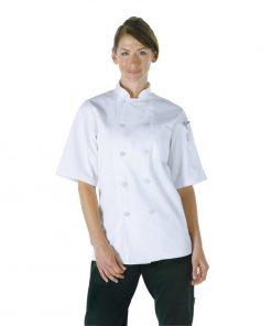 Chef Works Unisex Volnay Chefs Jacket White XS