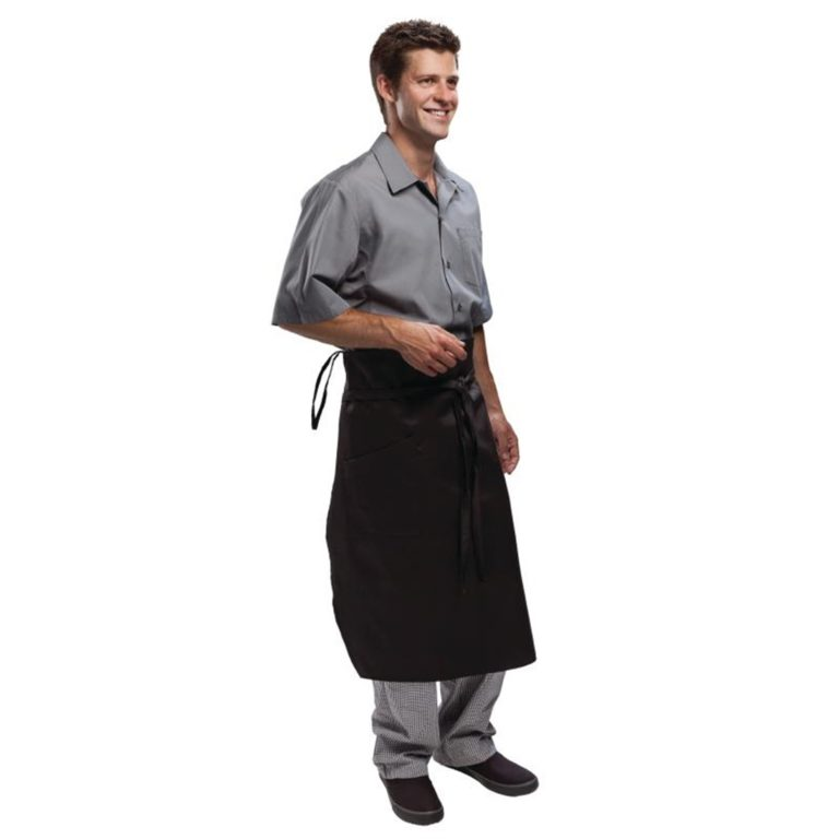 Chef Works Executive Chefs Tapered Apron Black