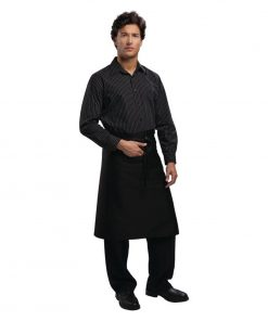 Uniform Works Regular Bistro Apron Black