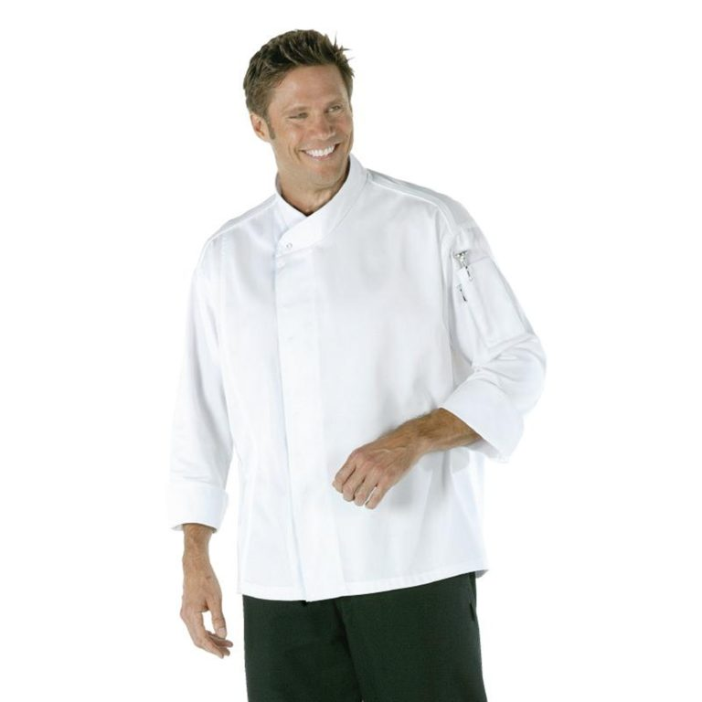 Chef Works Tours Cool Vent Unisex Chefs Jacket White M