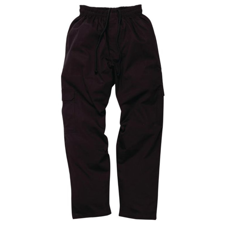 Chef Works Mens J54 Cargo Trousers Black M