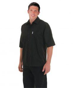 Chef Works Unisex Cool Vent Chefs Shirt Black XS
