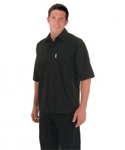 Chef Works Unisex Cool Vent Chefs Shirt Black 2XL