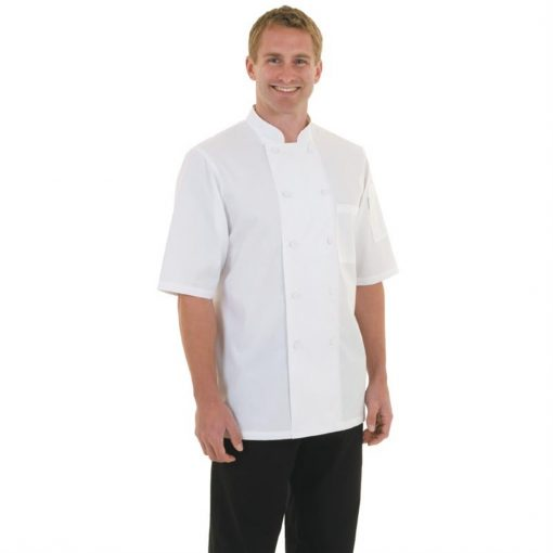 Chef Works Montreal Cool Vent Unisex Chefs Jacket White 2XL