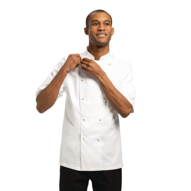 Chef Works Unisex Capri Executive Chefs Jacket White 52
