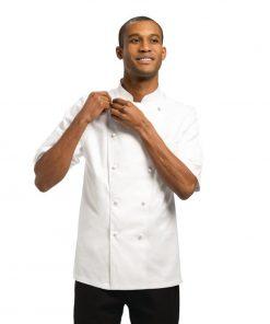 Chef Works Unisex Capri Executive Chefs Jacket White 54