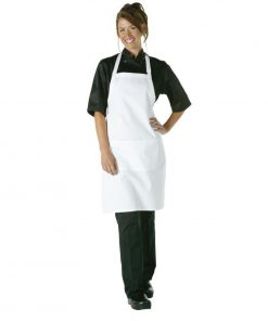 Chef Works Bib Apron White