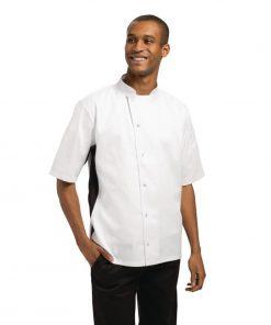 Nevada White Unisex Chefs Jacket Size M