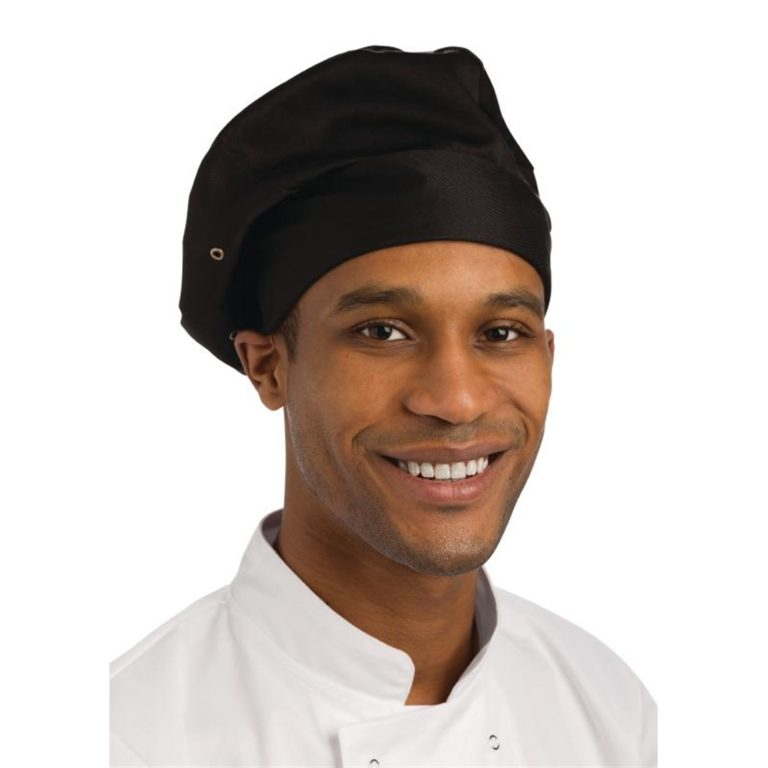 Chef Works Toque Chefs Hat Black