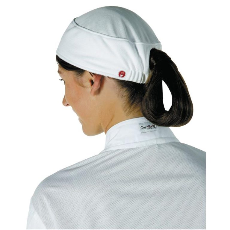 Chef Works Womens Total Vent Beanie White