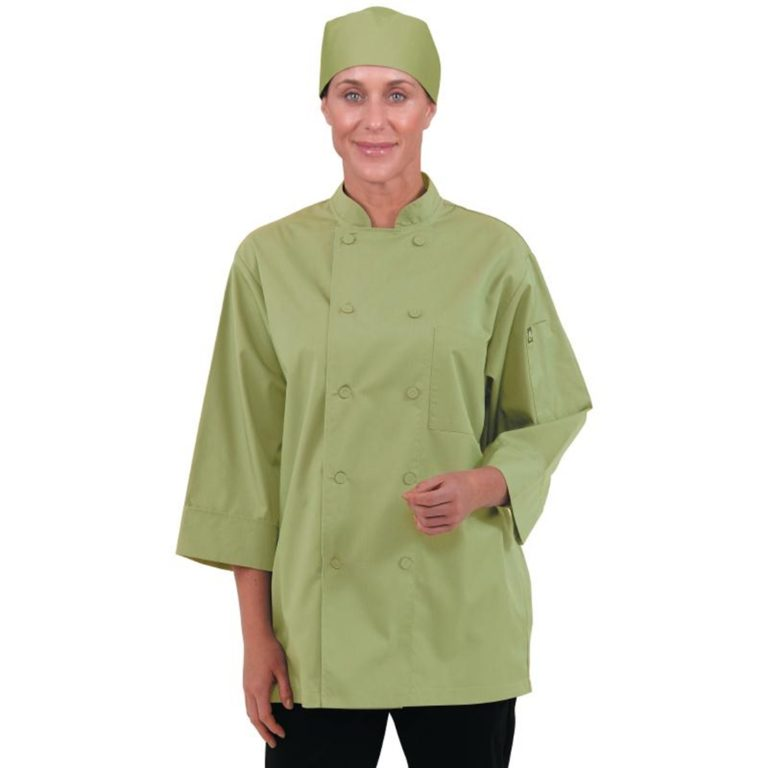 Chef Works Unisex Chefs Jacket Lime S
