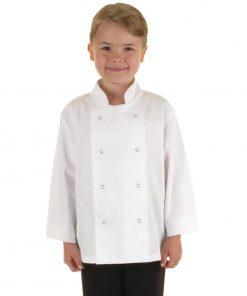 Whites Childrens Unisex Chef Jacket White S