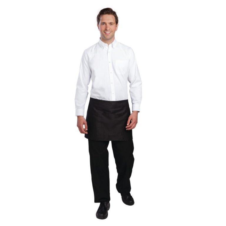 Uniform Works Oxford Button Down Collar Shirt White S