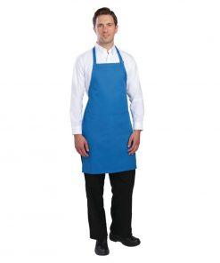 Chef Works Bib Apron Blue