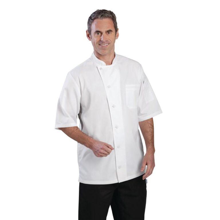 Chef Works Valais Signature Series Unisex Chefs Jacket White L
