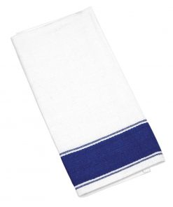 Olympia Gastro Napkins with Blue Border