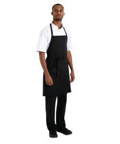 Chef Works Basic Bib Apron Black
