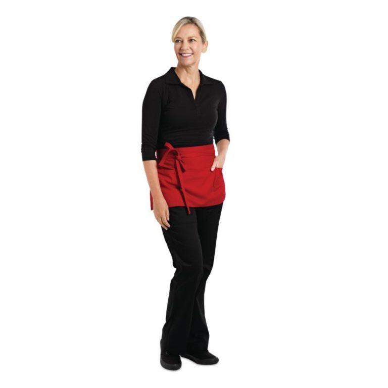 Chef Works Waist Apron Red