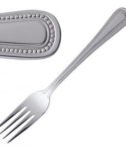 Olympia Bead Dessert Fork