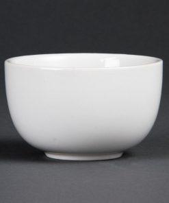 Olympia Whiteware Sugar Bowls 95mm