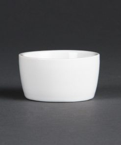 Olympia Whiteware Butter Dish 62mm