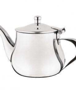 Olympia Arabian Stainless Steel Teapot 400ml