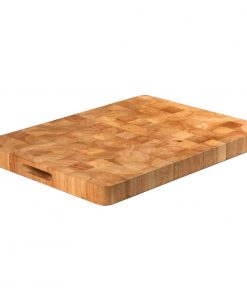 Vogue Rectangular Wooden Chopping Board Large