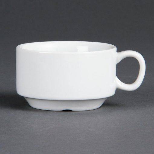 Olympia Whiteware Stacking Espresso Cups 85ml 3oz