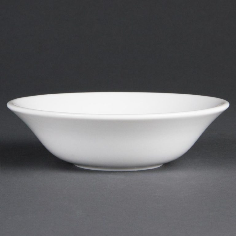 Olympia Whiteware Oatmeal Bowls 150mm