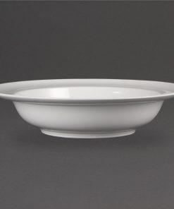 Olympia Whiteware Wide Rim Bowls 228mm 710ml 25oz