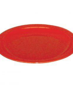Kristallon Polycarbonate Plates Red 172mm