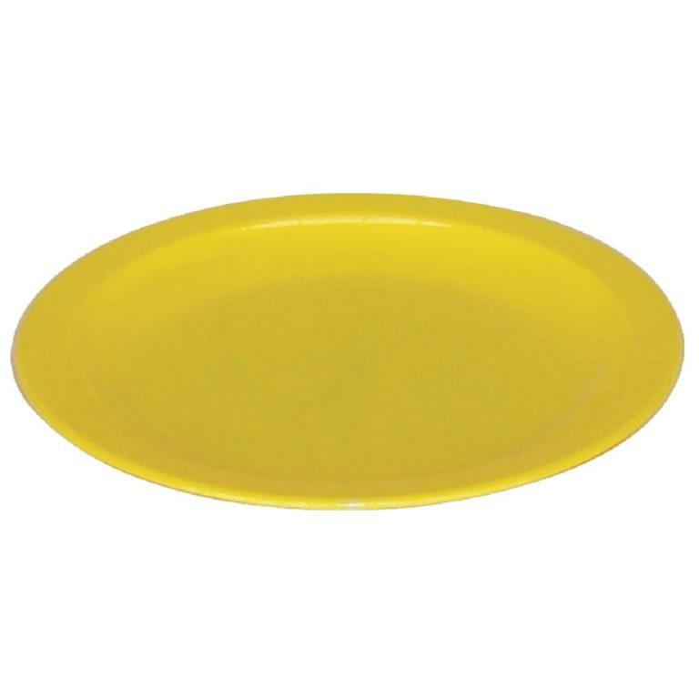 Kristallon Polycarbonate Plates Yellow 230mm