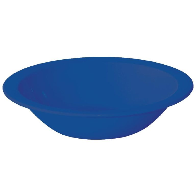 Kristallon Polycarbonate Bowls Blue 172mm