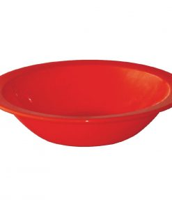 Kristallon Polycarbonate Bowls Red 172mm