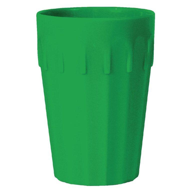 Kristallon Polycarbonate Tumblers Green 260ml