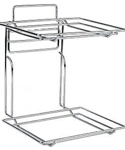 2 Tier Basket Counter Display 1/2 GN