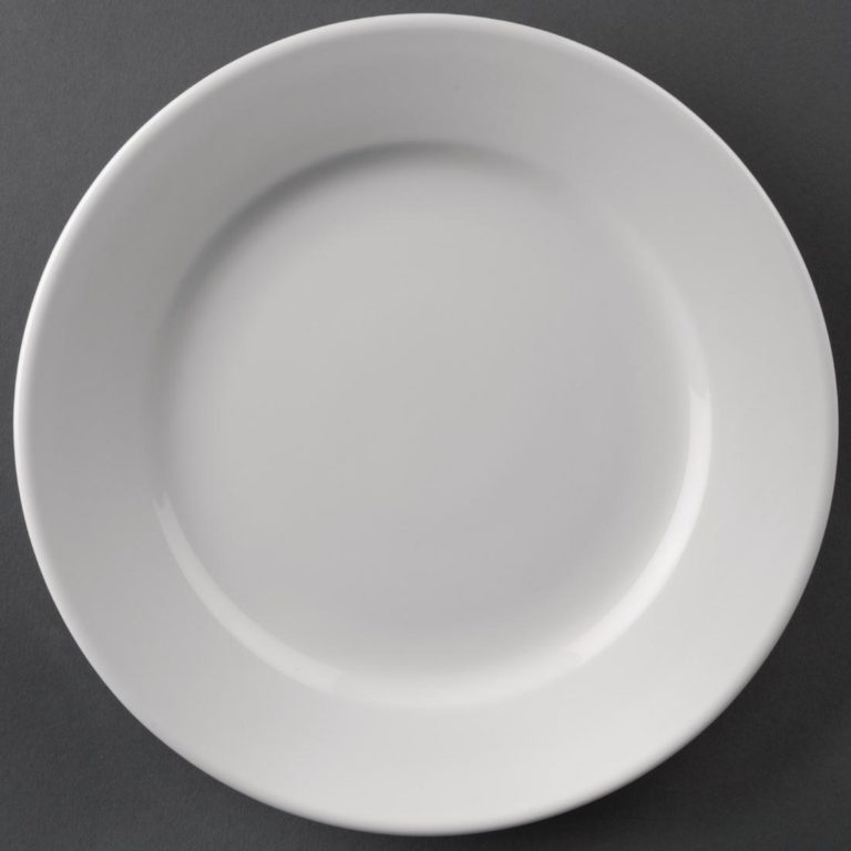 Athena Hotelware Wide Rimmed Plates 202mm