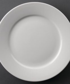 Athena Hotelware Wide Rimmed Plates 228mm