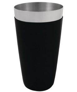 Olympia Boston Shaker Tin PVC Grip Black
