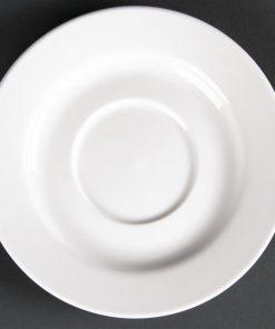 Lumina Fine China Round Saucers 143mm