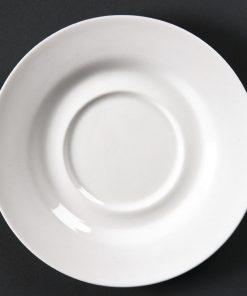 Lumina Fine China Round Saucers 156mm