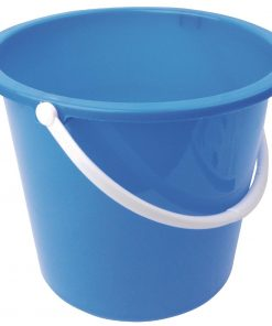 Jantex Round Plastic Bucket Blue 10Ltr