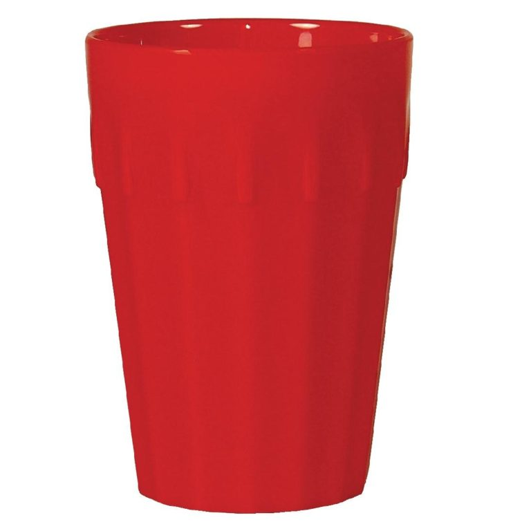 Kristallon Polycarbonate Tumblers Red 142ml